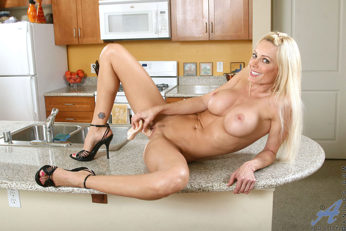 Mature riding dildo
