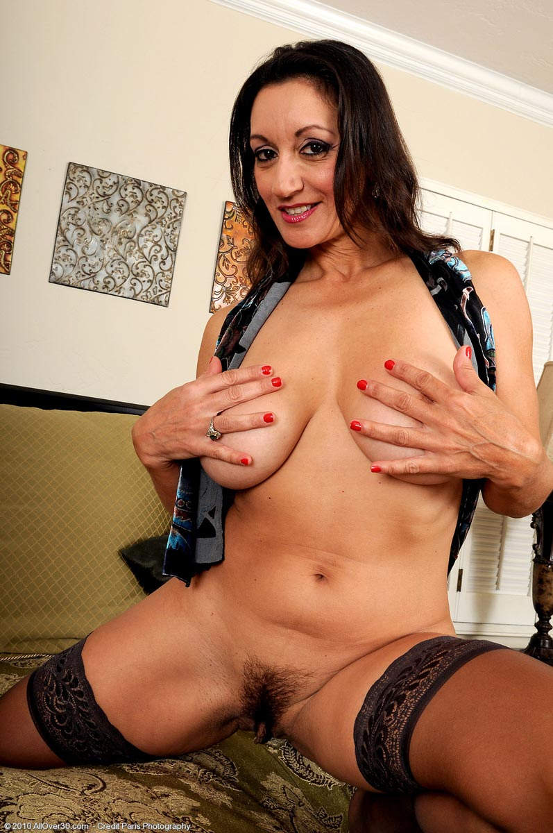 Talk this Sexy cougar stockings something is